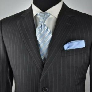 Z ZEGNA Dark Gray Modern 2Btn Suit ***CLEARANCE***